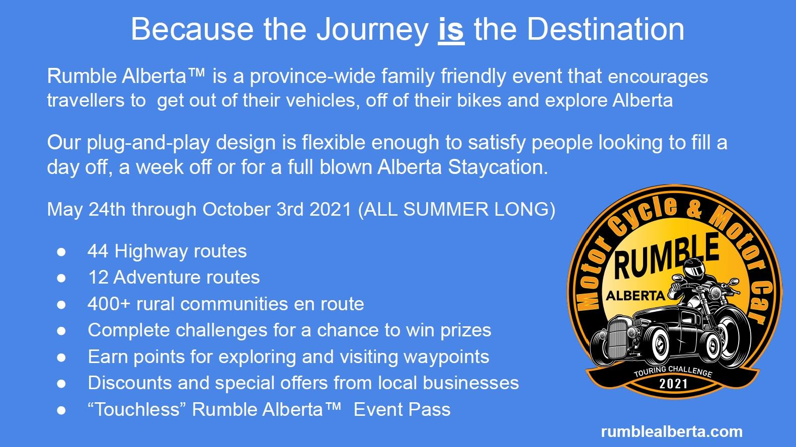 Rumble Alberta - Join the Journey